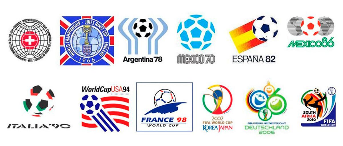 Logo copa do mundo 2018 clipart vector freeuse library Todos os logos da Copa do mundo | Design com Café vector freeuse library