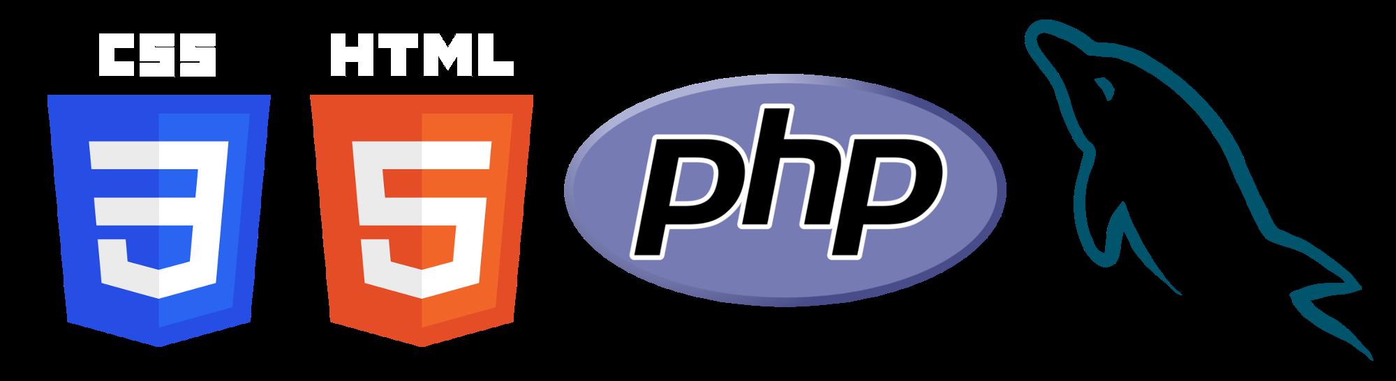 Logo css clipart jpg library stock Html Css Php Mysql Logo Png Transparent jpg library stock