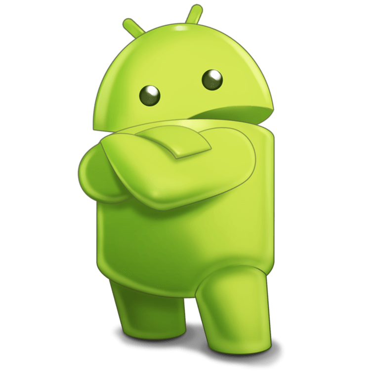 Logo de android clipart picture black and white stock Android Robot Sideview Character transparent PNG - StickPNG picture black and white stock