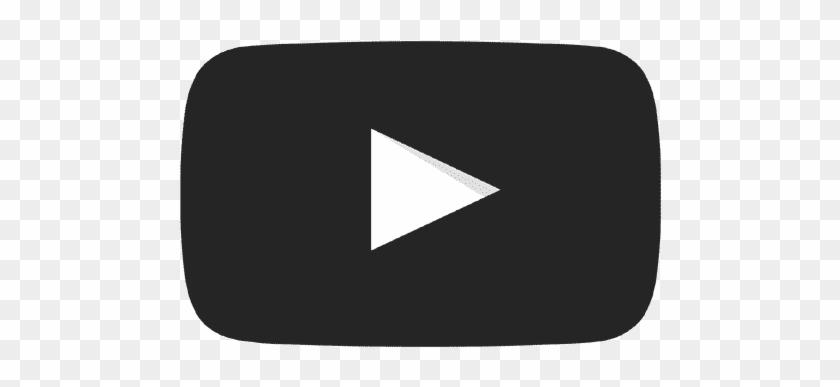 Logo de youtube clipart transparente png royalty free library Youtube Black Play Button - Logo De Youtube Png Negro, Transparent ... png royalty free library