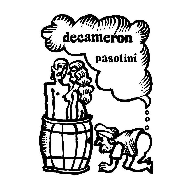 Logo decameron clipart clip freeuse stock The Decameron, Pasolini, Polish Poster, Jan Mlodozeniec clip freeuse stock