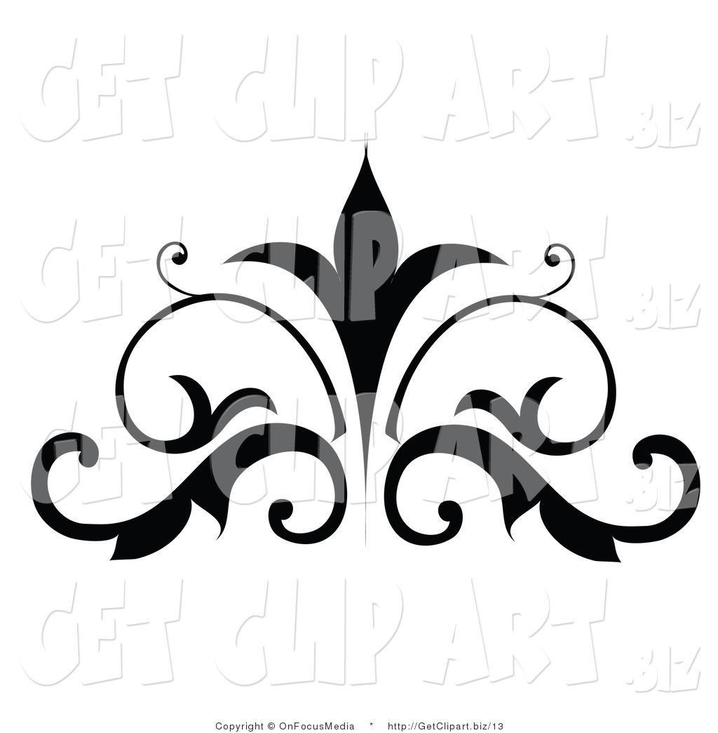 Logo design clipart free royalty free download Simple Scroll Design Clip Art | Clipart Panda - Free Clipart Images royalty free download