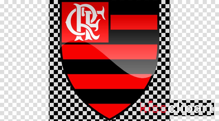 Logo flamengo clipart banner freeuse library Logo Dream League Soccer 2019 clipart - Football, Red, Text ... banner freeuse library