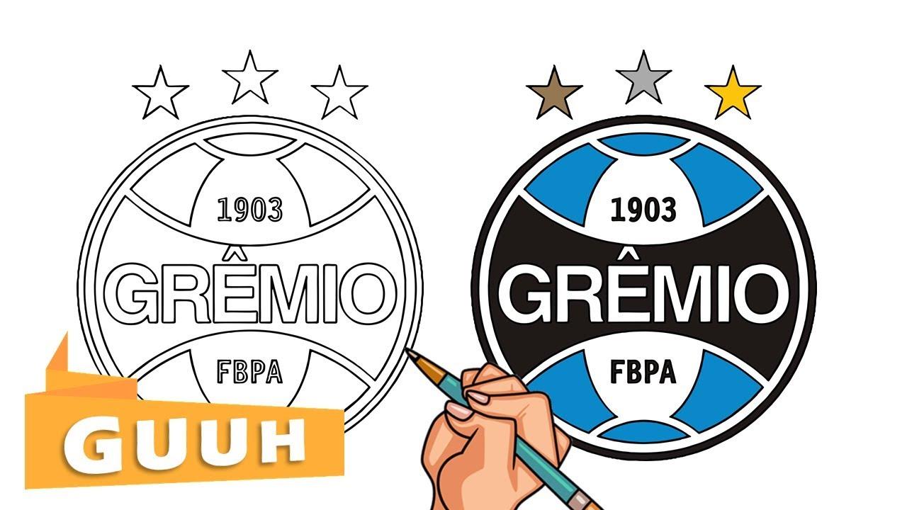 Logo do gremio clipart jpg HOW TO DRAW THE GRÊMIO LOGO jpg