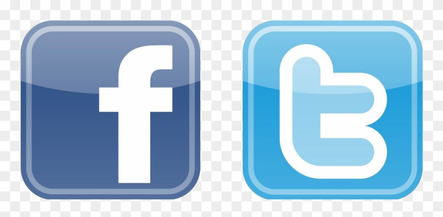 New facebook logo clipart graphic free download Logo Clipart Free - Facebook And Twitter Logos Png ... graphic free download