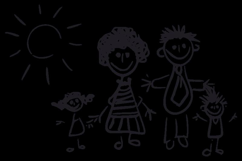 Logo familia clipart vector download Free Clipart: Familia palitos | Veritux vector download