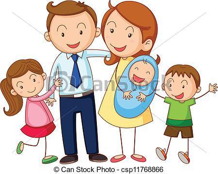Logo familia clipart jpg royalty free stock Familia clipart 3 » Clipart Portal jpg royalty free stock