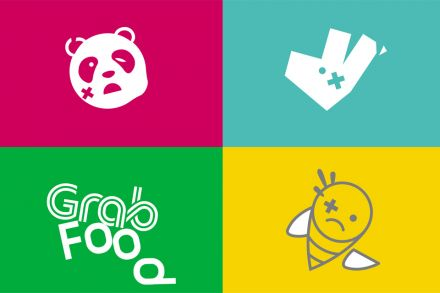 Logo grabfood clipart jpg library download Food fight! The battle for the food delivery market, Brunch ... jpg library download