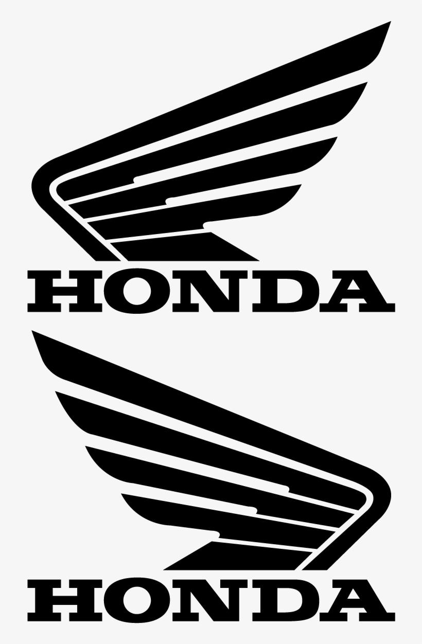 Logo honda motos clipart png royalty free download Honda Wing Logo Decal Sticker Vector - Logo De Honda Motos ... png royalty free download