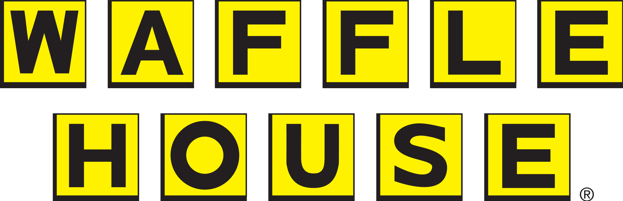 Logo house clipart image freeuse download File:Waffle House Logo.svg - Wikimedia Commons image freeuse download