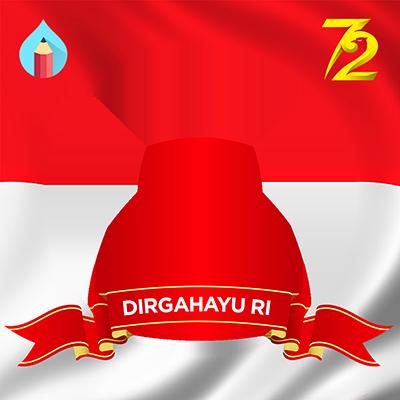 Logo hut ri ke 72 clipart vector royalty free library HUT RI 72 - Support Campaign | Twibbon vector royalty free library