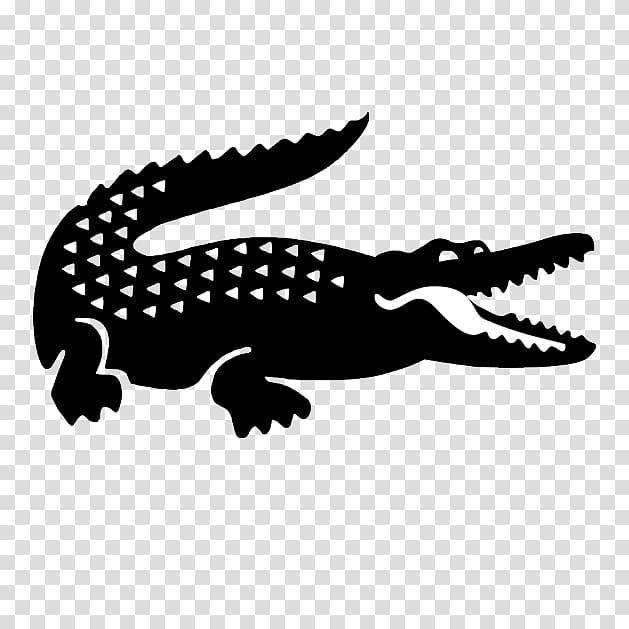 Logo lacoste clipart graphic library Black crocodile illustration, T-shirt Lacoste Logo Supreme ... graphic library