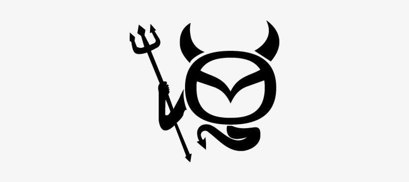 Logo mazda clipart clip art royalty free library Mazda Clipart Logo Art - Mazda Devil Logo Transparent PNG ... clip art royalty free library