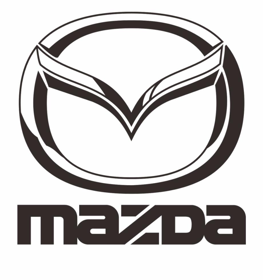 Logo mazda clipart vector transparent library Mazda Logo - Mazda Black Logo Png Free PNG Images & Clipart ... vector transparent library