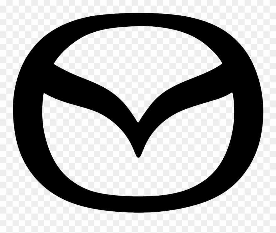 Logo mazda clipart clip art library library Mazda Clipart Logo Art - Mazda Logo Black And White - Png ... clip art library library