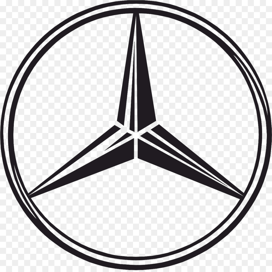 Logo mercedes clipart picture royalty free library Black Triangle png download - 1262*1253 - Free Transparent ... picture royalty free library