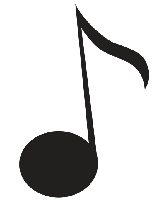 Logo music clipart clipart black and white stock Free Music Note Logo, Download Free Clip Art, Free Clip Art ... clipart black and white stock