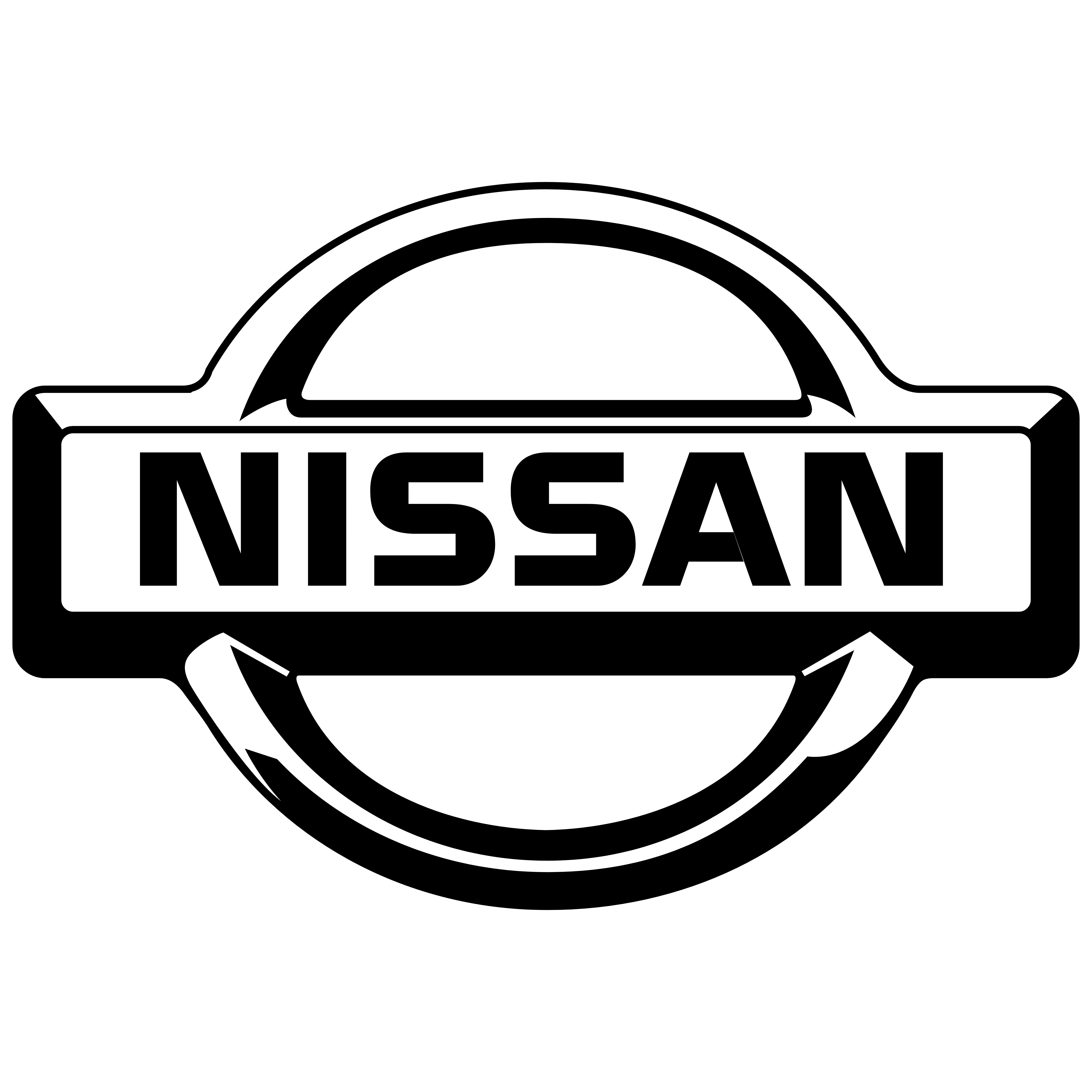 Logo nissan clipart picture library library Nissan – Logos Download picture library library