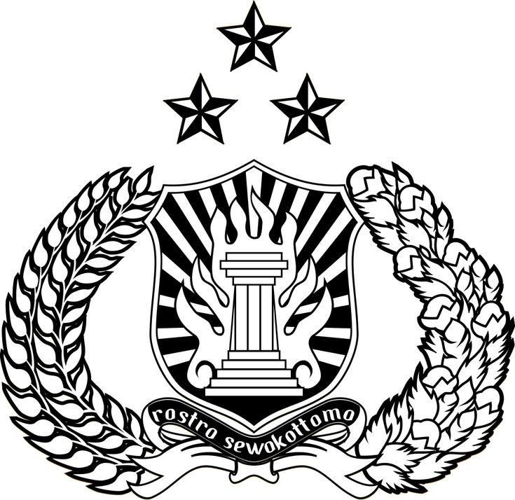 Logo polri clipart banner free download Lambang Polri (Polisi Republik Indonesia) | kria kayu ... banner free download