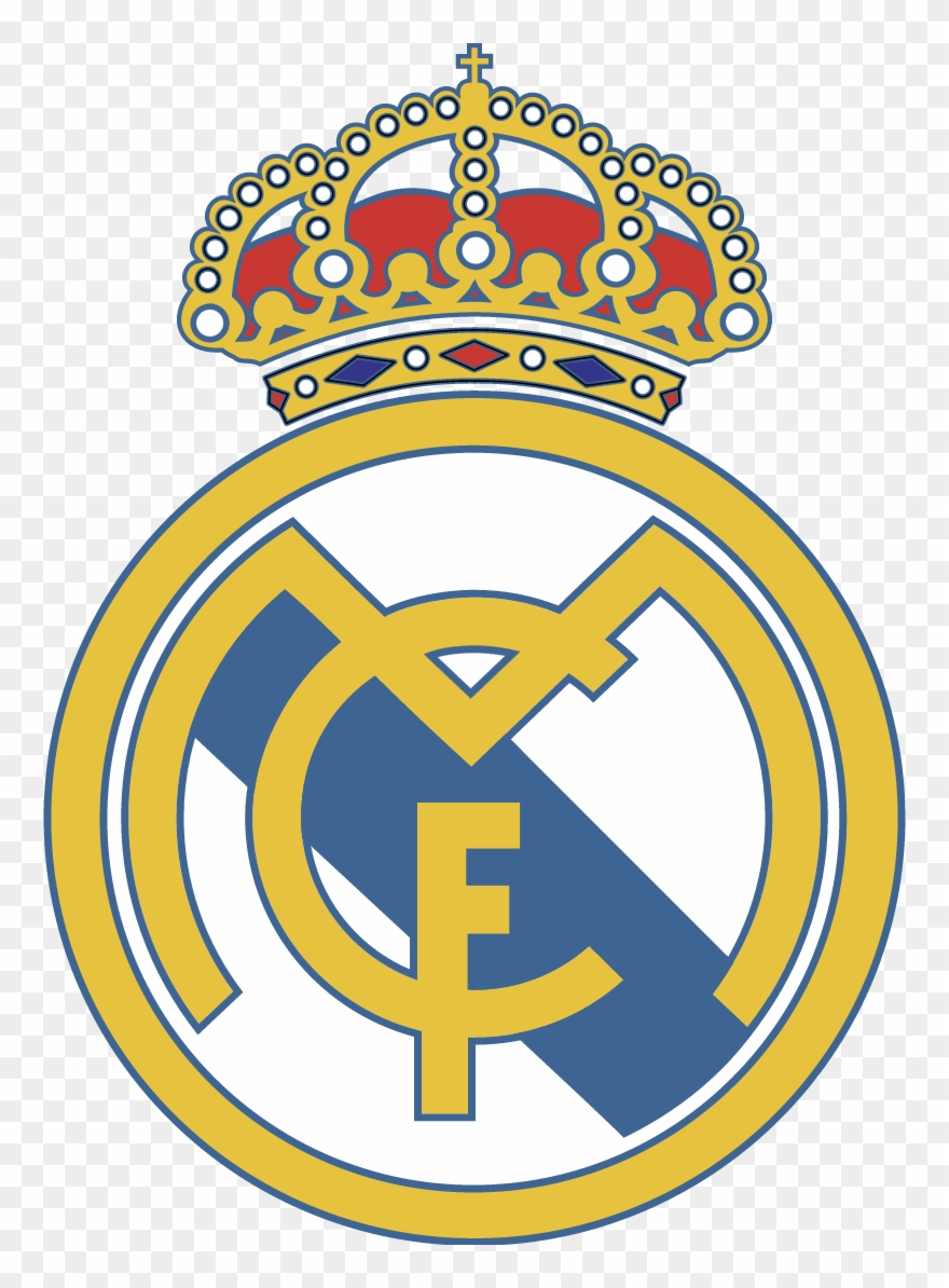 Logo real clipart vector transparent library Real Madrid Club De Futbol Vector - Real Madrid Fc Clipart ... vector transparent library