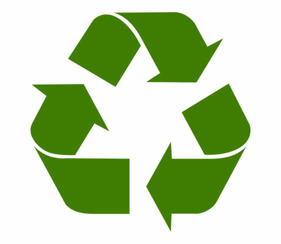 Logo reciclaje clipart