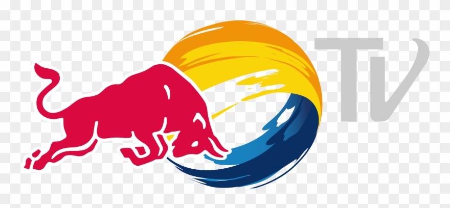 Redbull logo clipart jpg royalty free download Red Bull Tv &ndash Logos Download - New Red Bull Logo ... jpg royalty free download