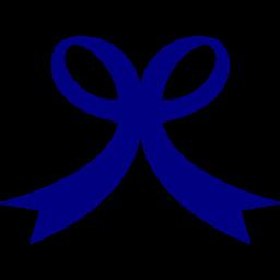 Logo ribbon clipart png navy svg free stock Navy blue ribbon 9 icon - Free navy blue ribbon icons svg free stock