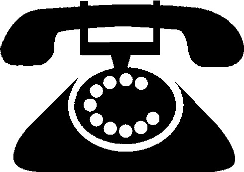 Logo telephone clipart png black and white download Telephone logo clipart » Clipart Station png black and white download
