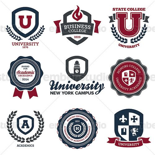 Logo vector clipart graphic design programs clip art free stock University and college crests, vector graphics.   Art & Design ... clip art free stock