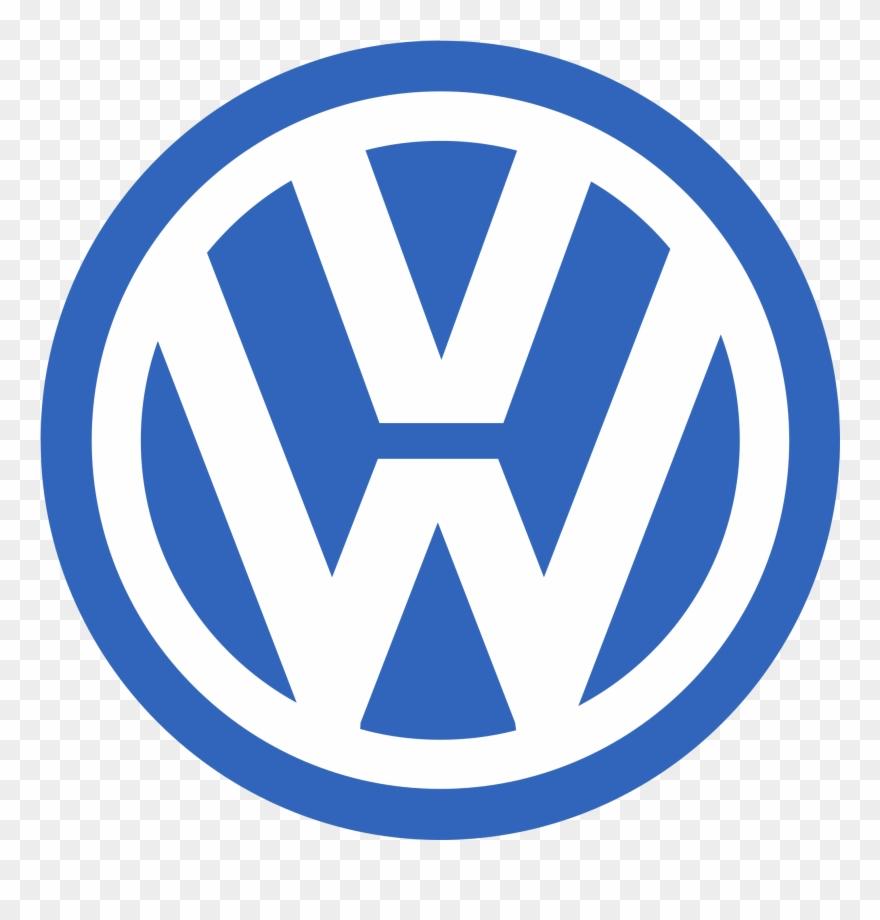 Logo volkswagen clipart vector free stock Volkswagen - Logo With W And V Clipart (#1258808) - PinClipart vector free stock