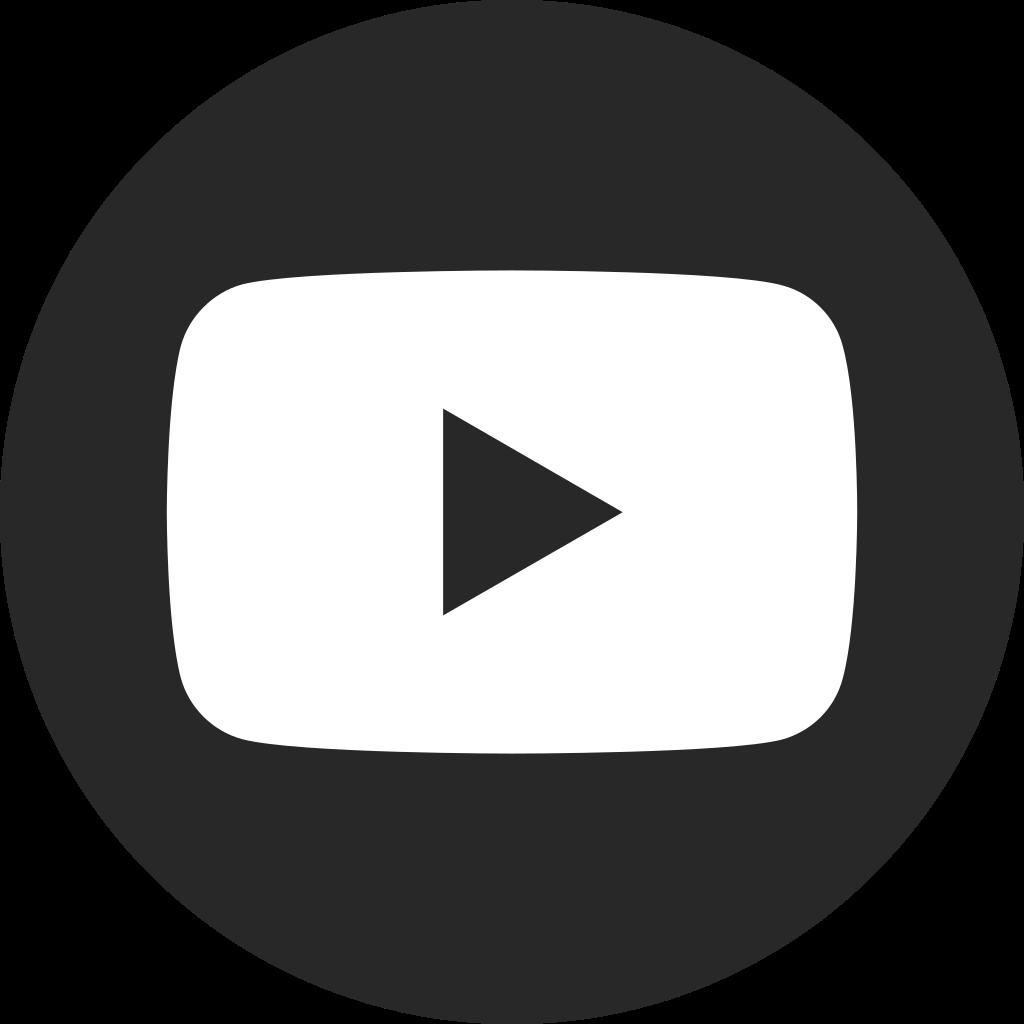 Logo youtube blanco clipart clip freeuse download File:YouTube social dark circle (2017).svg - Wikimedia Commons clip freeuse download
