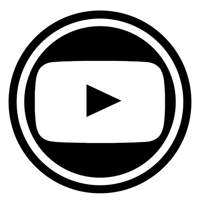 Logo youtube blanco clipart png black and white library Logo Youtube Png Preto Vector, Clipart, PSD - peoplepng.com png black and white library
