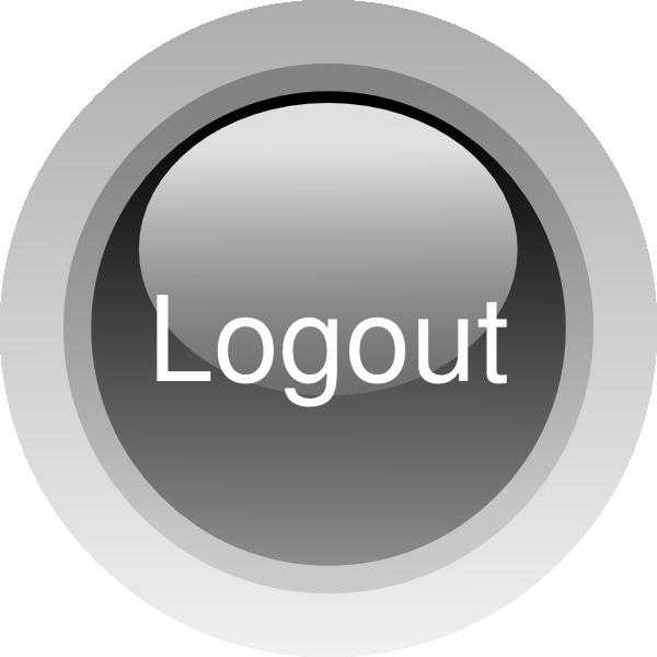 Logout button clipart graphic Logout Button Clip Art at Clker.com - vector clip art online ... graphic