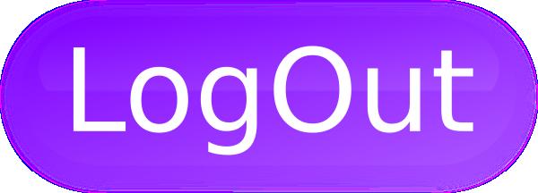 Logout button clipart transparent Logout Button Purple PNG, SVG Clip art for Web - Download ... transparent