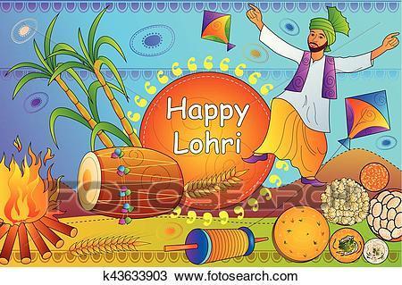 Lohri clipart vector freeuse download Lohri festival clipart 3 » Clipart Portal vector freeuse download