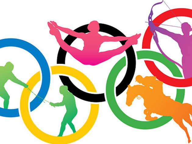 London 2012 olympics clipart jpg free library Join the London 2012 Olympic Games craze in NYC jpg free library