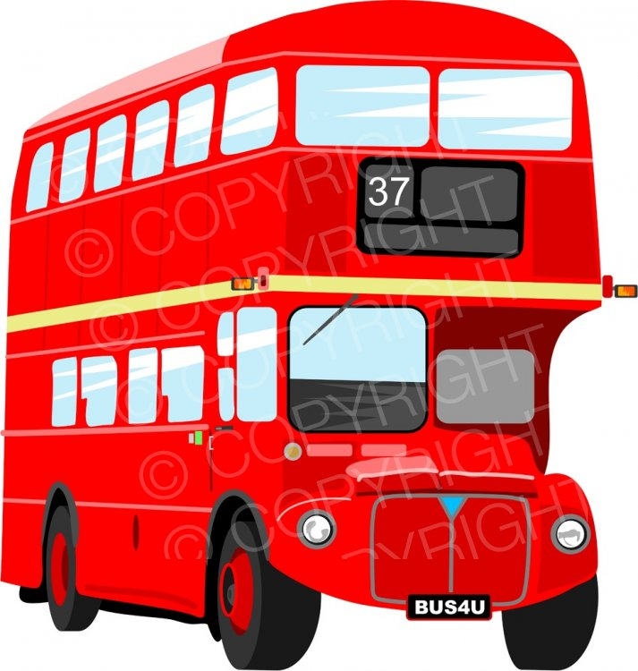 London bus clipart banner black and white library Red London Double Decker Bus Prawny Transport Clip Art – Prawny ... banner black and white library