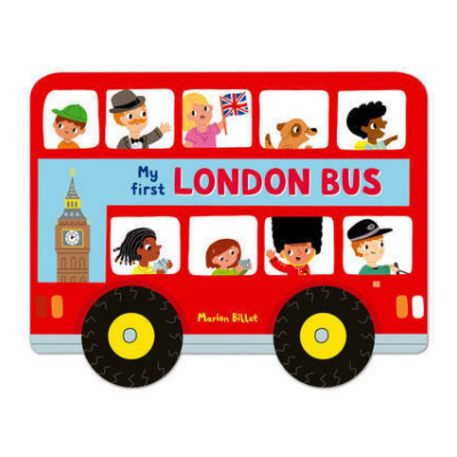 London bus images clipart clip free stock My First London Bus (Board Book) clip free stock