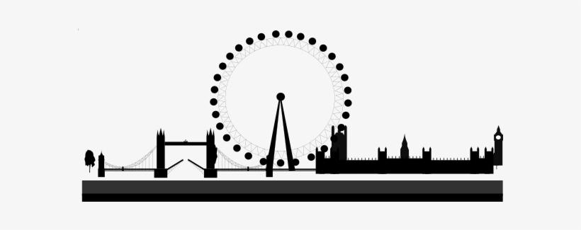 London clipart black and white vector library download London Skyline Clip Art - London Bridge Black And White Clipart ... vector library download