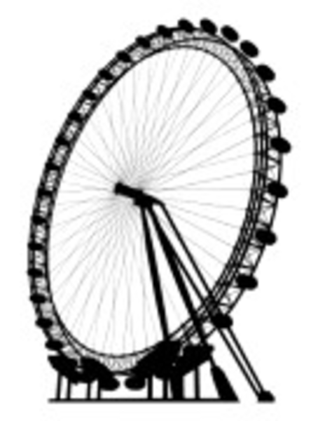 London eye clipart image freeuse download The London Eye Silhouette | Free Images at Clker.com - vector clip ... image freeuse download