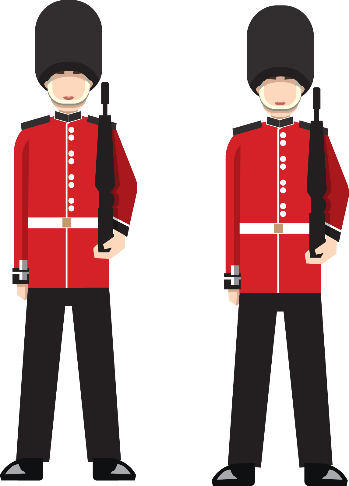 London guard clipart image free Icon British Soldiers Transprent Png Free Download - London Soldiers ... image free