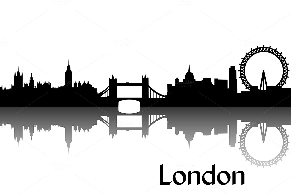 London skyline silhouette clipart graphic royalty free download 11 London Silhouette Vector Clip Art Images - London Skyline ... graphic royalty free download