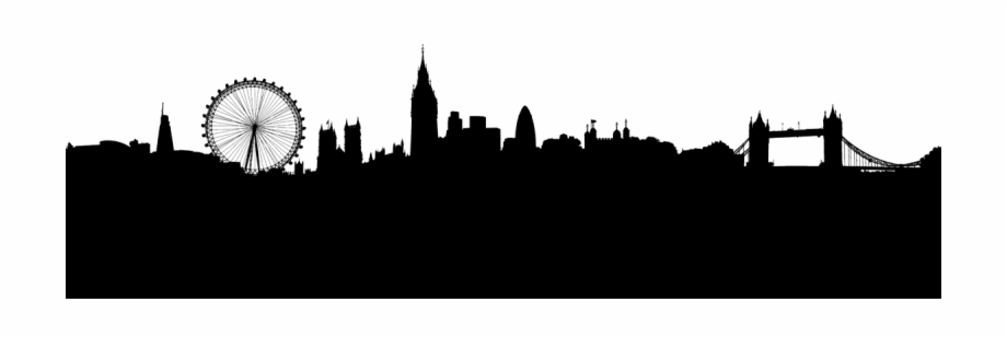 London skyline clipart clipart free download London Silhouette Png - London Skyline Silhouette Png Free PNG ... clipart free download
