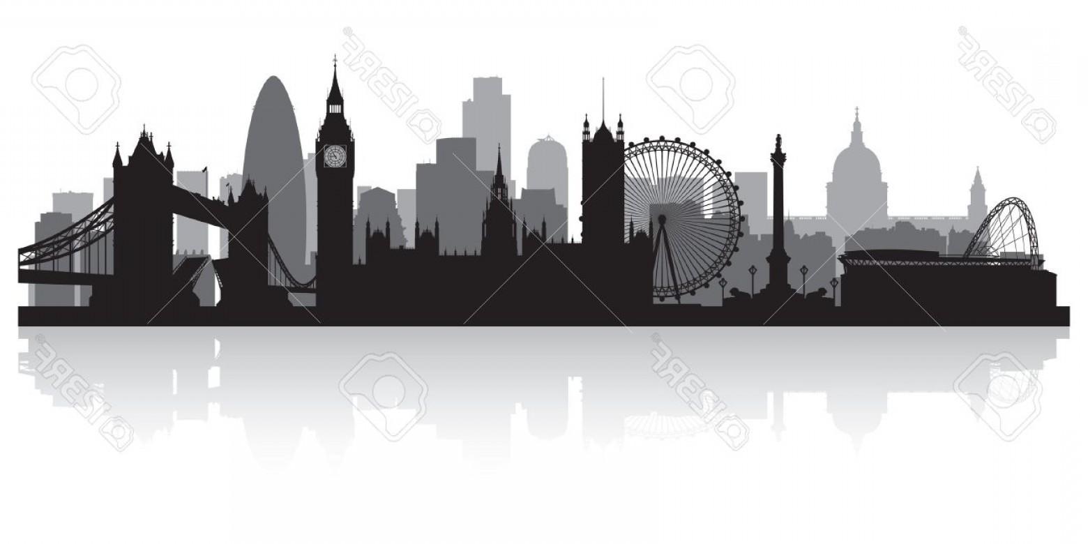 London skyline silhouette clipart vector transparent download Photolondon City Skyline Silhouette Vector Illustration | SOIDERGI vector transparent download