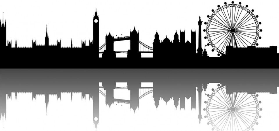 London skyline silhouette clipart banner transparent library silhouette of london skyline - Google Search | Christmas gifts ... banner transparent library
