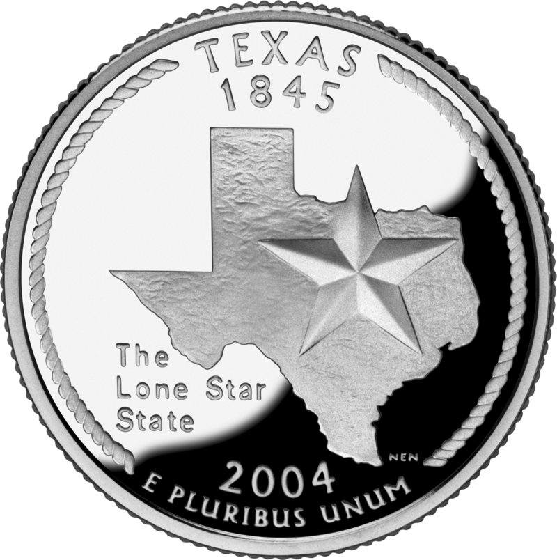 Lone star clipart black and white clip black and white library Texas State Quarters clip black and white library