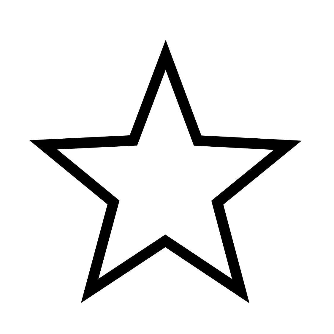 Lone star clipart black and white svg freeuse stock Stars PNG Images, free star clipart images - Free Icons and PNG ... svg freeuse stock