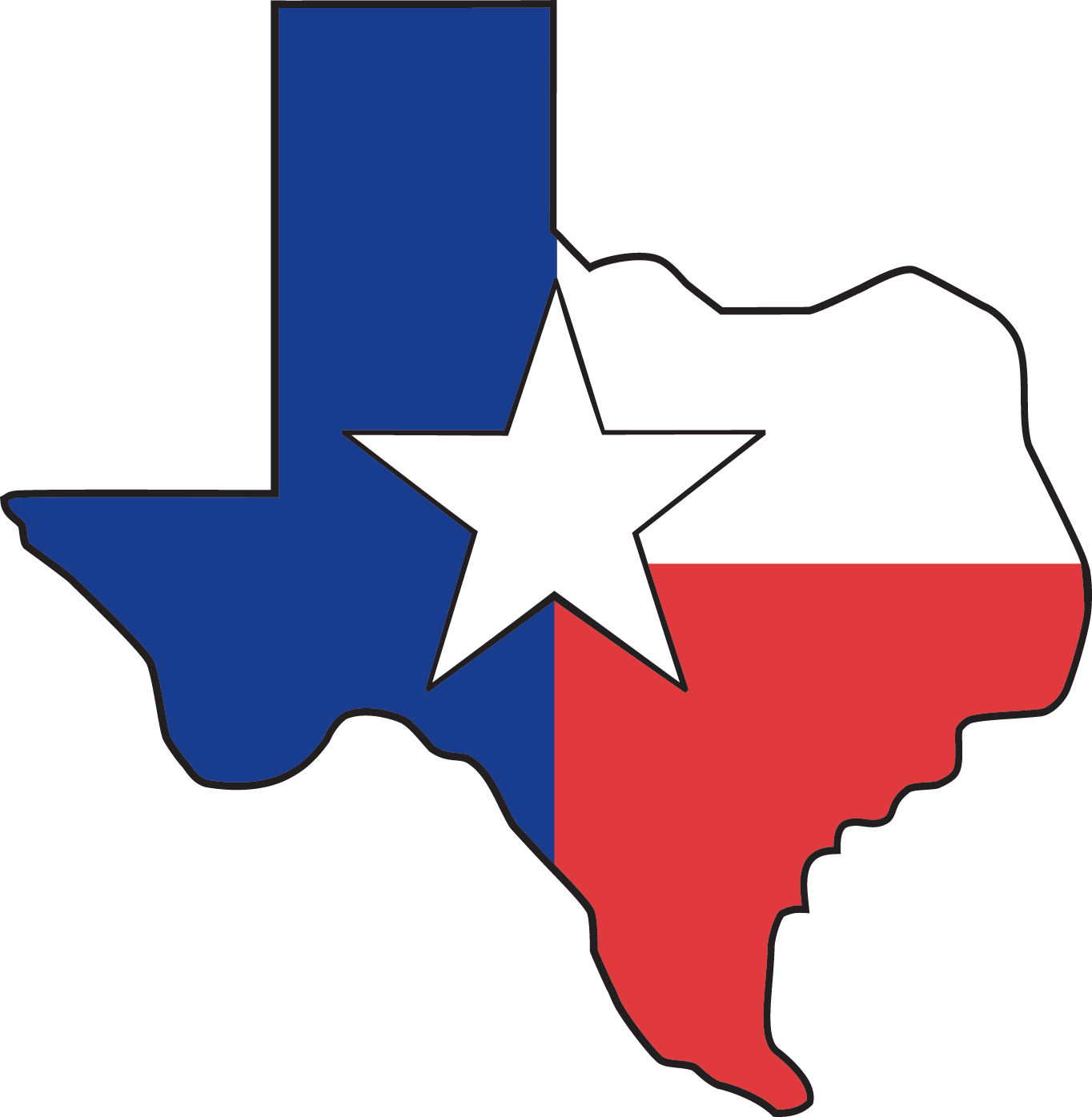 Lone star clipart black and white clip free download Recorded Books - Logos clip free download