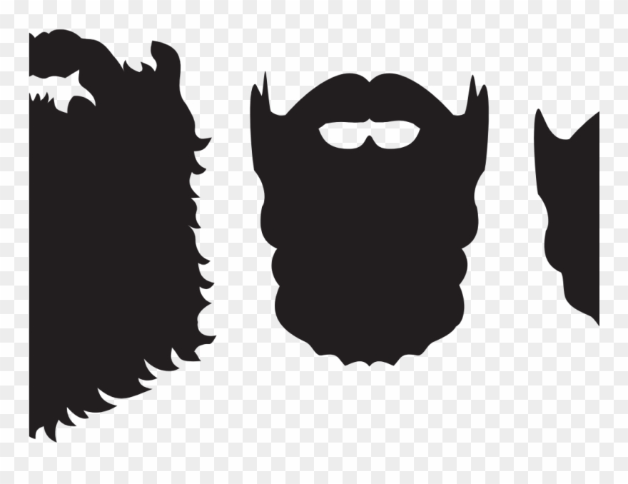 Long beard clipart clip freeuse stock Beard Clipart Beard Silhouette - Png Download (#2481781) - PinClipart clip freeuse stock