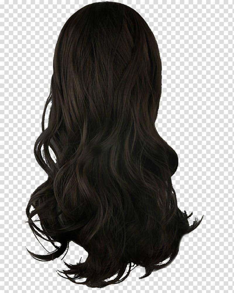 Long black hair clipart image freeuse download Hair, black hair transparent background PNG clipart | HiClipart image freeuse download